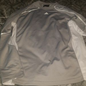 Mens athletic adidas long sleeve